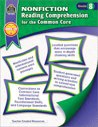 nonfiction reading comprehension for the common core grade 8