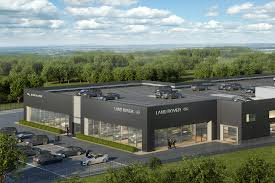 jaguar land rover dealership build architecture and project management
