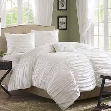 White Bed Skirt Queen White Ruffled Bed Skirt Queen White Ruffle Bedding Shabby Chic