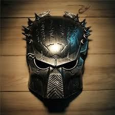 men masquerade masks cool predator masquerade masks props silver