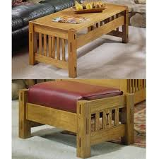 Woodworking Plans Coffee Tables by Woodworking Project Paper Plan To Build Arts And Crafts Coffee