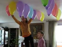 Balloon Ceiling Decor Balloon Hanging Idea Youtube