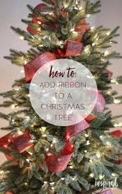 ribbon christmas tree christmas tree ribbon tips and tricks for styling