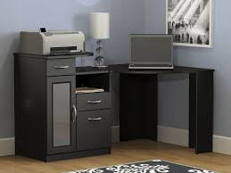 black modern desk modern desk with drawers ideas thediapercake home trend