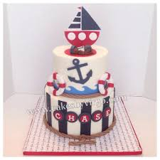 nautical baby shower cakes cakes by virgo baby shower gallery