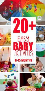 25 best baby activities ideas on pinterest infant sensory 20 fun easy baby activities