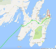 Canada Road Trip Map by Atlantic Canada Roadtrip Week 7