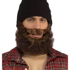lumberjack costume brown lumberjack beard costume accessory walmart