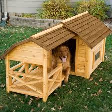 boomer u0026 george wooden barn dog house hayneedle
