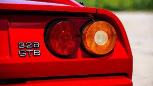ferrari tail lights 1988 ferrari 328 gtb s179 monterey 2016