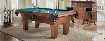 Pool Dining Table by Pool Dining Tables With Classic Wooden And Dark Green Cushion