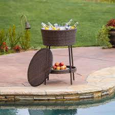 patio beverage cooler cart awesome patio beverage cooler patio beverage cooler cart patio