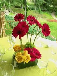 Daisy Centerpiece Ideas by Daisy Flower Arrangement Centerpieces Centerpiece With Real