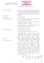 si e du conseil constitutionnel document conformité à la constitution du parrainage le conseil