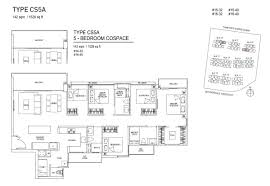 Ecopolitan Ec Floor Plan by 5 Bedroom Cospace Bellewaters