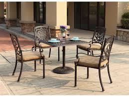 Santa Barbara Wicker Patio Furniture - darlee outdoor living standard santa barbara cast aluminum dining