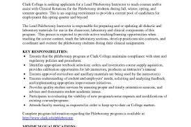 entry level phlebotomy resume phlebotomy resume template 6 free