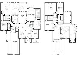 five bedroom home plans 5 bedroom house plans 2 story large size of story house plan with