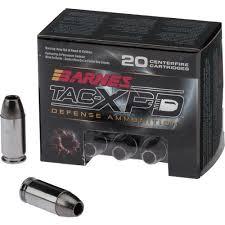 Barnes Xpb Barnes Tac Xp 45 Automatic P 185 Grain Bullets Academy