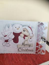 christmas card using fizzy moon kit serif craft artist and die cut
