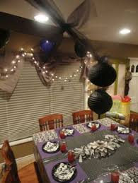 Black And White Ball Decoration Ideas Themed Parties Decadent Black And White Birthday Ball Themed
