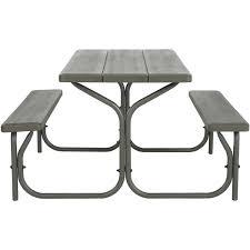 lifetime bench table parts home table decoration