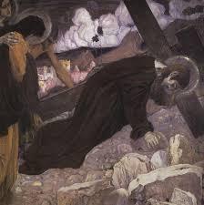crucifixion 1912 mikhail nesterov wikiart org
