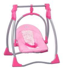 siege auto pour poupon chaise haute 3 en 1 en metal poupee calinou accessoire poupon