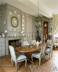 French Country Table by Charles Spada His French Chateau That Fireplace In The Dining