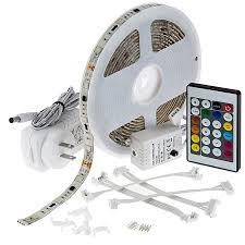 ribbon light universal waterproof color chasing rgb led light kits led