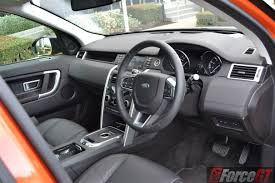 old land rover discovery interior 2016 land rover discovery sport si4 se review