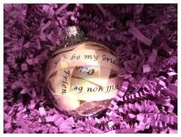 will you be my bridesmaid ornament be my bridesmaid