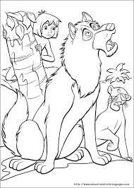 jungle book coloring coloring pages epicness