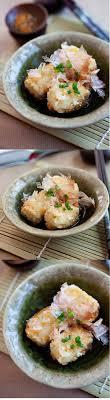 cuisiner japonais agedashi tofu recette cuisiner japonais et cuisine japonaise