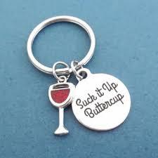 Wine Glass Keychain Best Friend Wine Glass Products On Wanelo