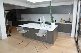grey kitchen island grey kitchen island modern by lwk kitchens