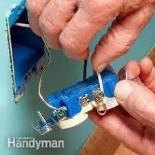 how to replace electrical outlets the old the white and wall