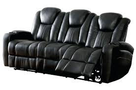 eli reclining sofa with drop down table power and headrest