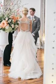 philadelphia wedding full of colorful florals wedding dress