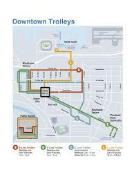 Chicago Trolley Map by Downtown Cleveland Parking Rates Will Spike Thursday For Cleveland