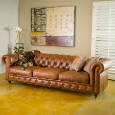Tufted Leather Chesterfield Sofa tufted leather chesterfield sofa home design ideas