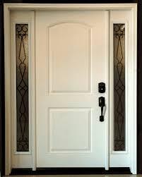 Fiberglass Exterior Doors With Sidelights Top Fiberglass Exterior Doors On Feather River Door Fiberglass