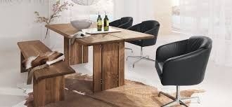 rustic dining room tables with bench