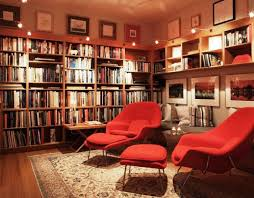comfy library chairs cozy reading chair for home library design ideas melissa darnell
