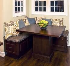corner kitchen table with storage bench corner benches for kitchen inspirations with fabulous table storage