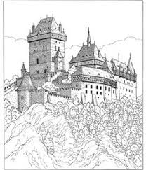 sleeping beauty u0027s castle creative coloring pages