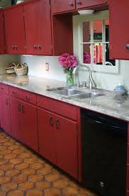 chalk painted kitchen cabinets before and after home design ideas