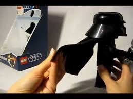 Lego Darth Vader Led Desk Lamp обзор фигурки Lego Star Wars Darth Vader Flashlight Youtube