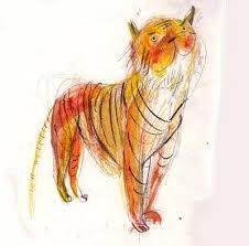 laura hughes tiger sketches u2026 pinteres u2026