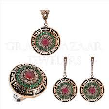 Ottoman Harem by Ethnic Turkish Ottoman Jewelry Harem Set Gbj32st2419